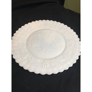 Vintage Imperial Milk Glass Cake Plate Preview