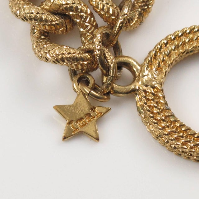 Gold Julie Borgeaud for Imai Large Gilt Metal Geometric Choker Necklace For Sale - Image 8 of 10