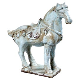 Image of Newly Made Horse Sculptures