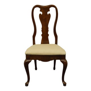 Thomasville Furniture Collectors Cherry Side Chair For Sale