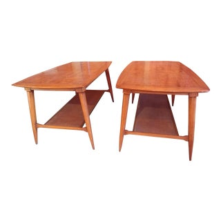 Mid Century Modern Tomlinson Sophisticate End Tables - a Pair For Sale
