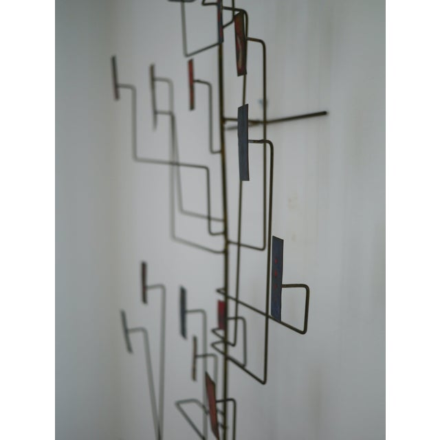 Black Abstract Copper Sculpture in the Manner of Harry Bertoia For Sale - Image 8 of 11