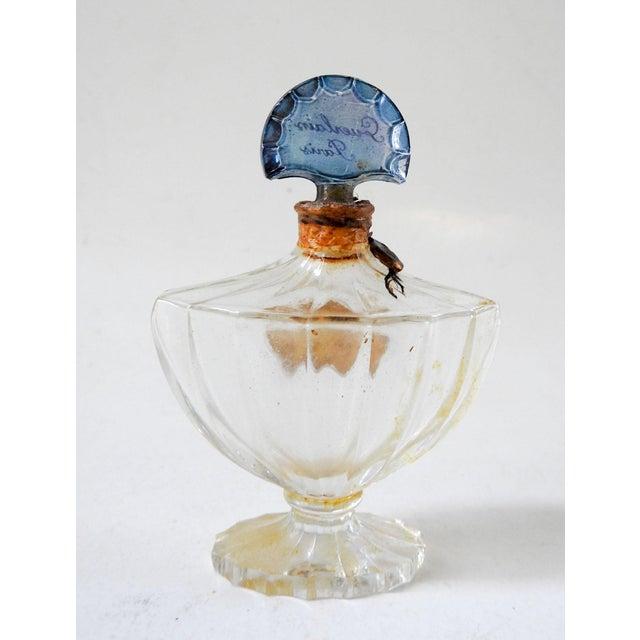 Shabby Chic Vintage Guerlain Baccarat Shalimar Perfume Bottle For Sale - Image 3 of 7
