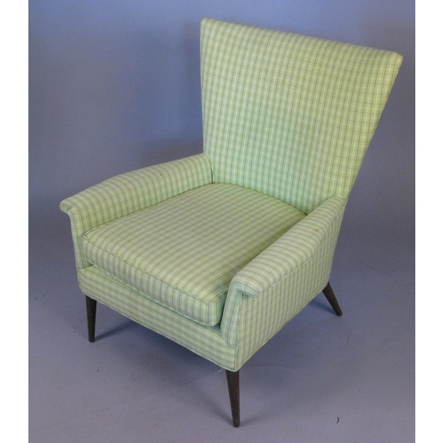 Mid-Century Modern High Back Lounge Chair by Paul McCobb For Sale - Image 3 of 7