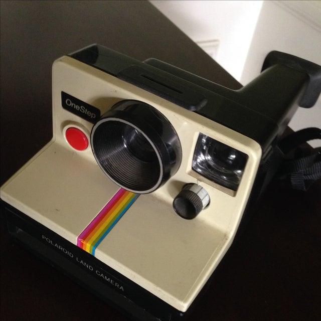 Vintage Polaroid One Step Land Camera For Sale - Image 5 of 11
