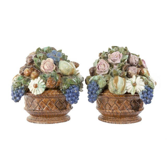 Antique French Sarreguemines Majolica Tureens - A Pair For Sale In Los Angeles - Image 6 of 6