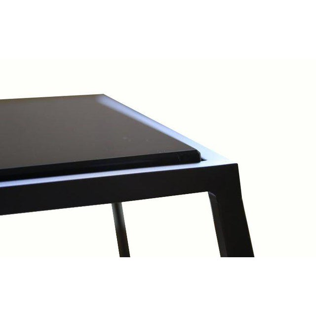 Customizable Richard Glass Top Table - Image 5 of 10