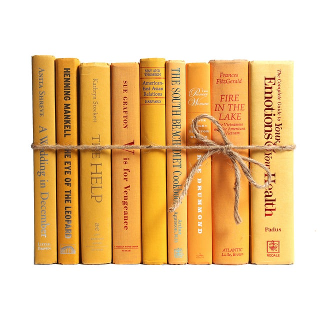 Modern Yellow ColorPak Of Books - Image 2 of 3
