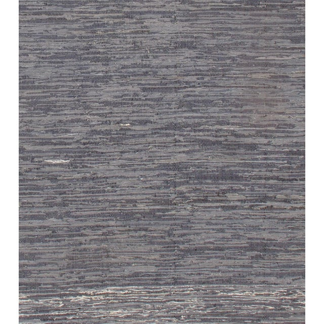 Indo Denim Hand Woven Rug Reversible All Cotton This rug has a dense, soft pile, and excellent quality, to ensure that you...