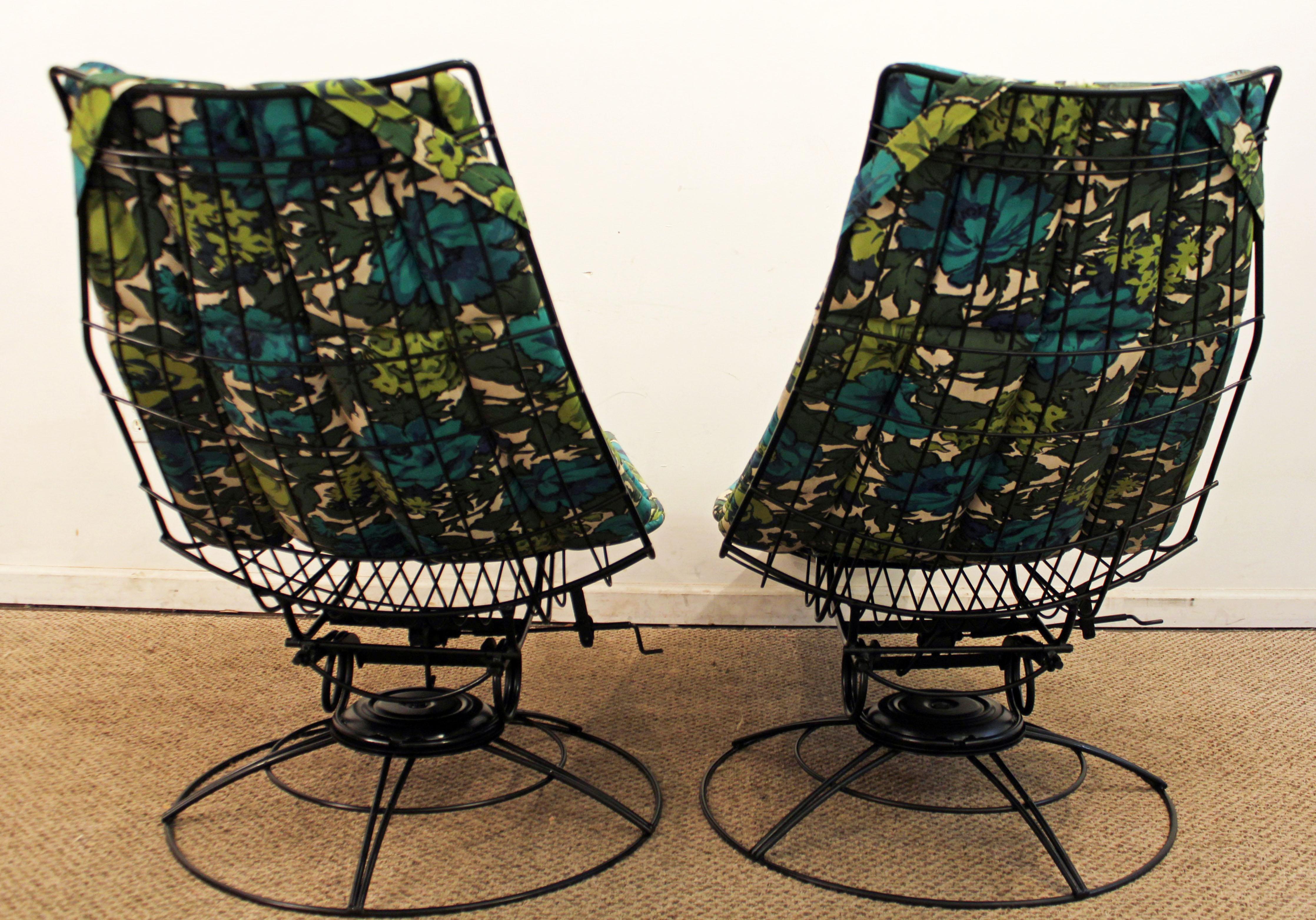 Bottemiller Homecrest Mid Century Danish Modern Siesta Lounger Chairs   A  Pair   Image 5
