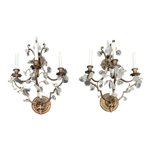 Vintage French Louis XVI Style Sconces - a Pair For Sale - Image 10 of 10
