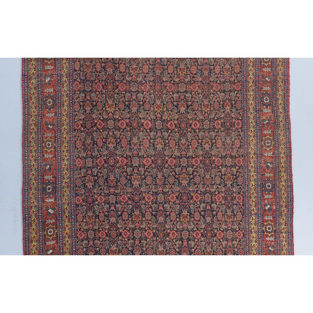 Traditional Senneh Gallery Carpet For Sale - Image 3 of 4