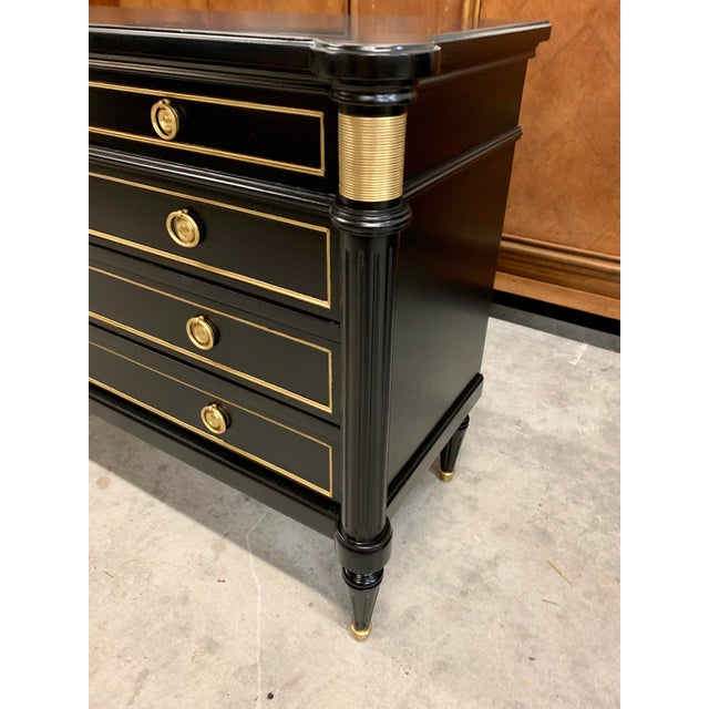 French Louis XVI Style Maison Jansen Commode Circa 1910's For Sale - Image 12 of 13