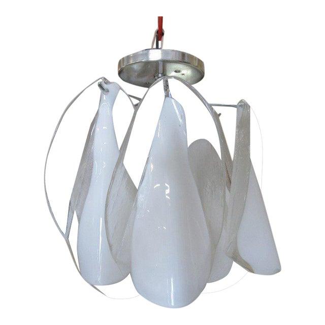 Mazzega hand blown petite chandelier chairish mazzega hand blown petite chandelier aloadofball Images