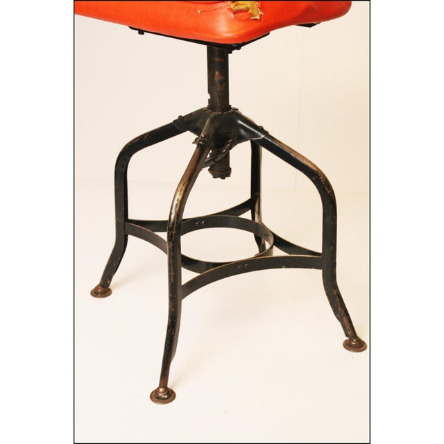 Vintage Industrial Toledo Drafting Stools - A Pair - Image 10 of 11