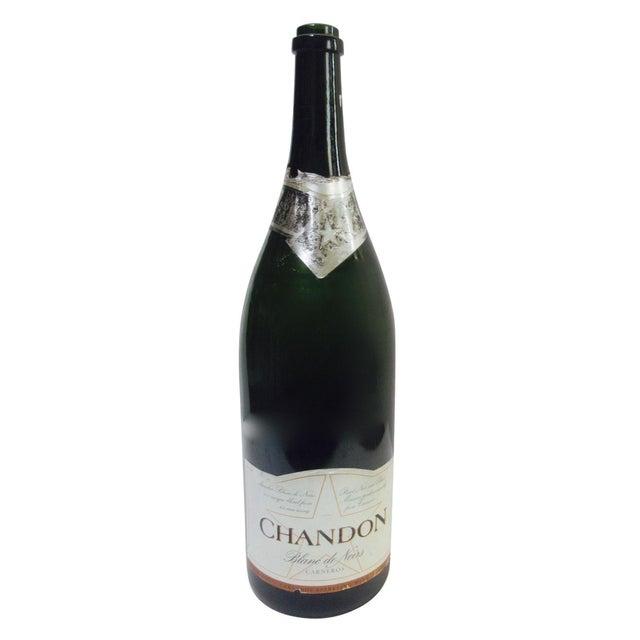 Pop Art Champagne Wine Bottle Prop - Image 1 of 9