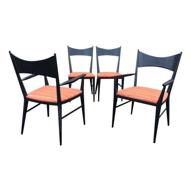 Paul McCobb Calvin Furniture Dining Chairs - 4 For Sale