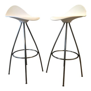 Jesús Gasca for Stua Onda Bar Stools - A Pair
