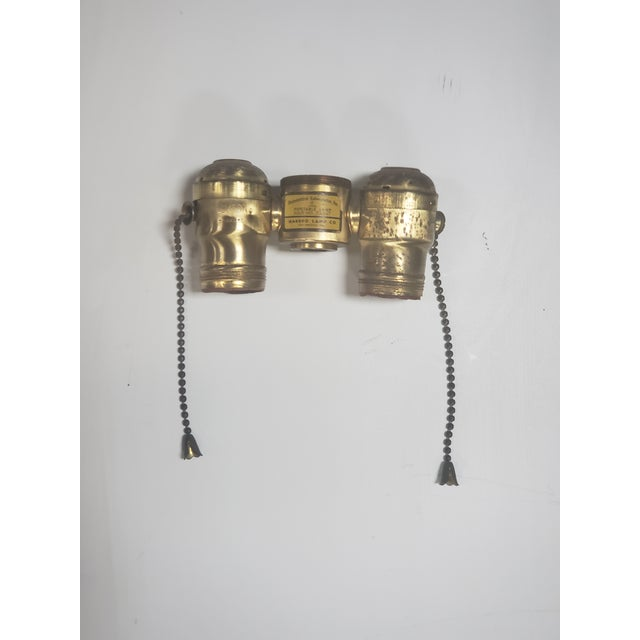 Black Marbro Black Porcelain & Brass Amphora Jar Lamp For Sale - Image 8 of 9