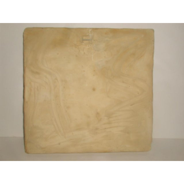 Neoclassical Roman Plaque Plaster Wall Hanging For Sale - Image 5 of 8