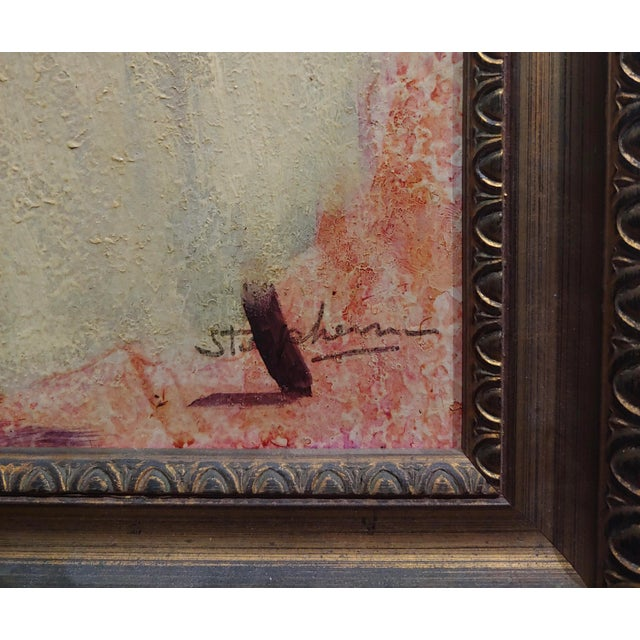 Female Dancer Stretching - Oil Painting For Sale In Los Angeles - Image 6 of 9