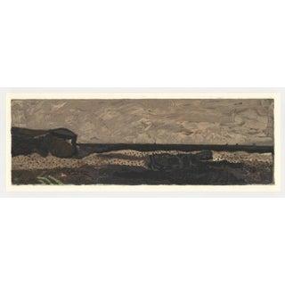 """1968 Maeght """"La Plage De Varengeville"""" Georges Braque Lithograph For Sale"""