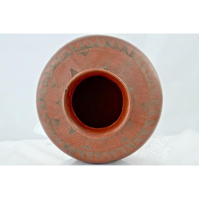 Southwestern Redware Pottery Urn - Image 6 of 7