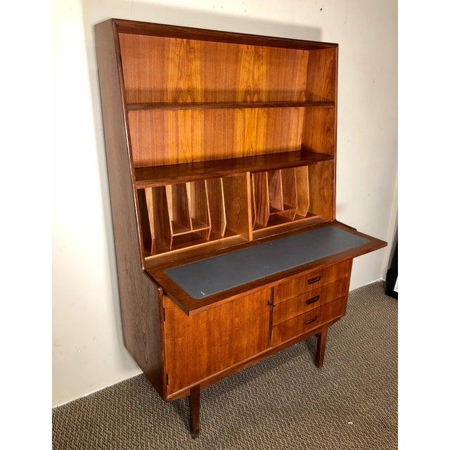 Mid Century Teak Secretary Desk by Turnidge of London For Sale - Image 13 of 13
