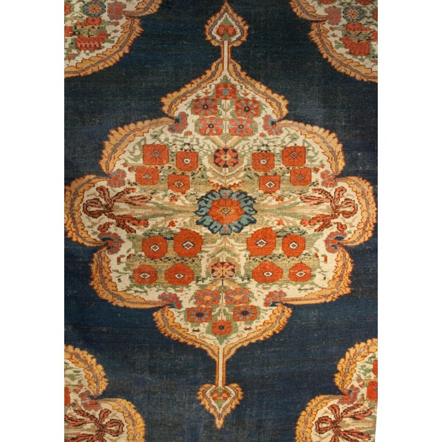 """Early 20th Century Bakhtiari Runner - 105"""" x 202"""" For Sale - Image 4 of 5"""