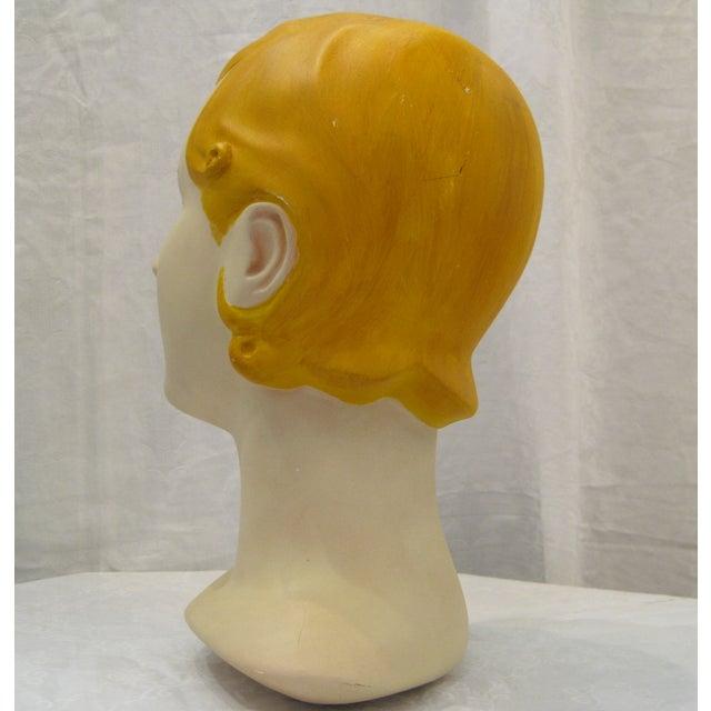 Blonde Vintage Mannequin Head - Image 5 of 6