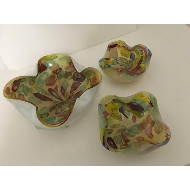 Vintage Murano Art Glass Italian Nut Dishes - 3 - Image 6 of 9