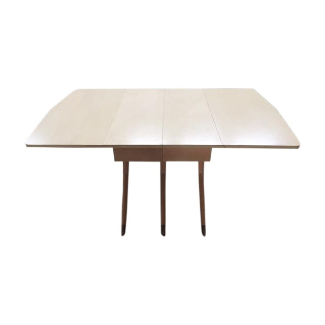 Mid Century Blonde Dining Table - Image 1 of 6