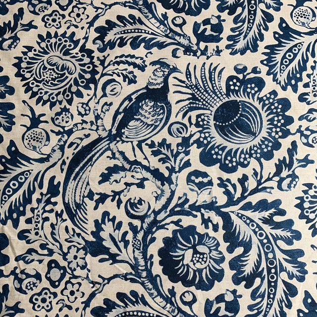 "Clarence House ""Delft"" Fabric For Sale"