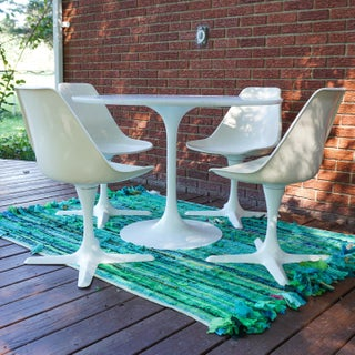 1960s Space Age Tulip Table and Chairs Set - 5 Pieces Preview