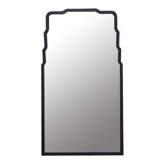 Dolly Wall Mirror, Black For Sale