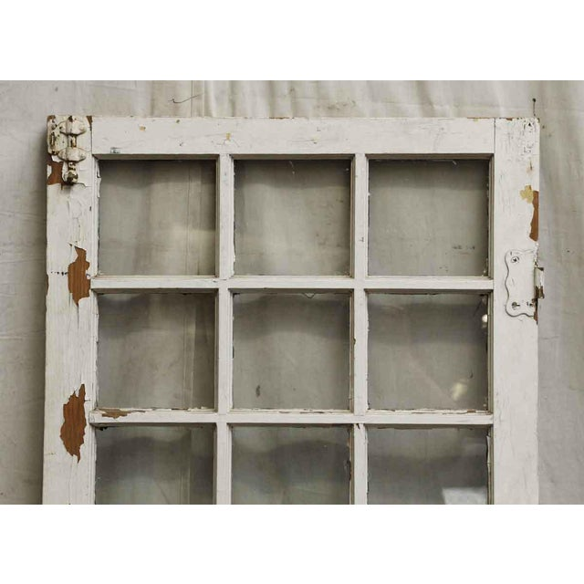 Distressed 24-Panel Window For Sale - Image 6 of 6