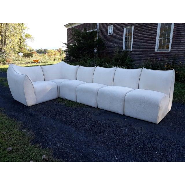 Mario Bellini for B&b Italia Le Bambole 6 Piece Sectional Sofa For Sale - Image 9 of 13