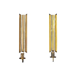 Pierre Forssell Skultuna Candle Sconces - A Pair For Sale