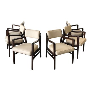 Edward Wormley for Dunbar Chairs- Set of 6 For Sale