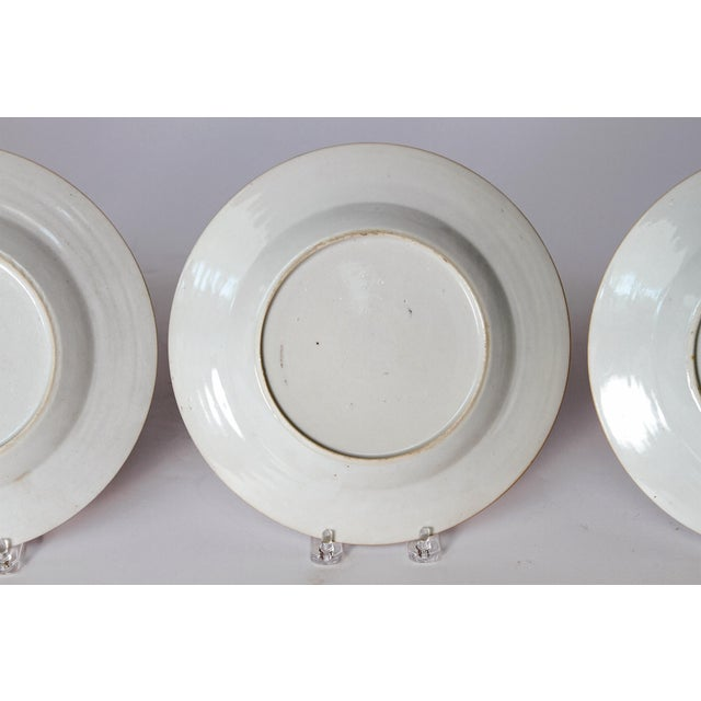Early 19th Century Chinese Porcelain Plates Set of Six For Sale - Image 12 of 13