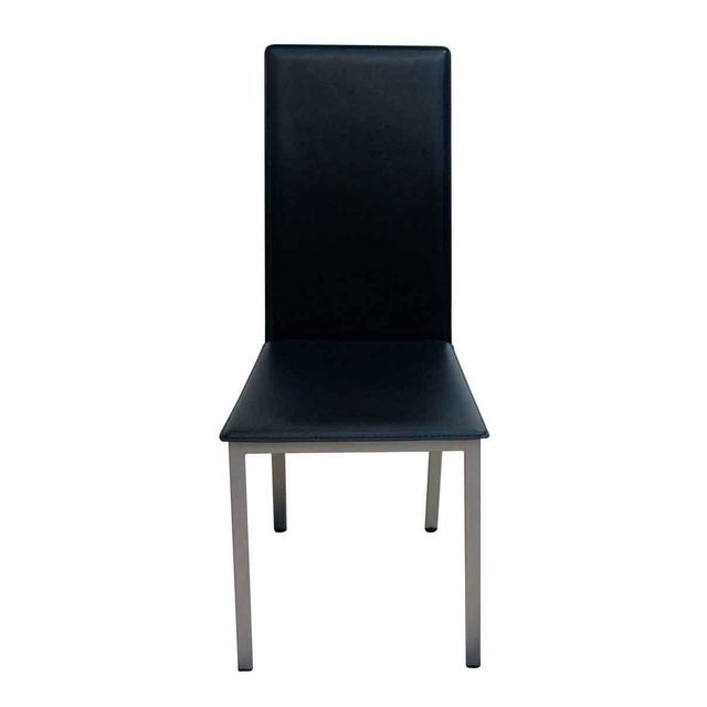 Mid-Century Modern Mid Century Modern Coaster Company of America Aluminum Frame Chairs - Set of 4 For Sale - Image 3 of 7