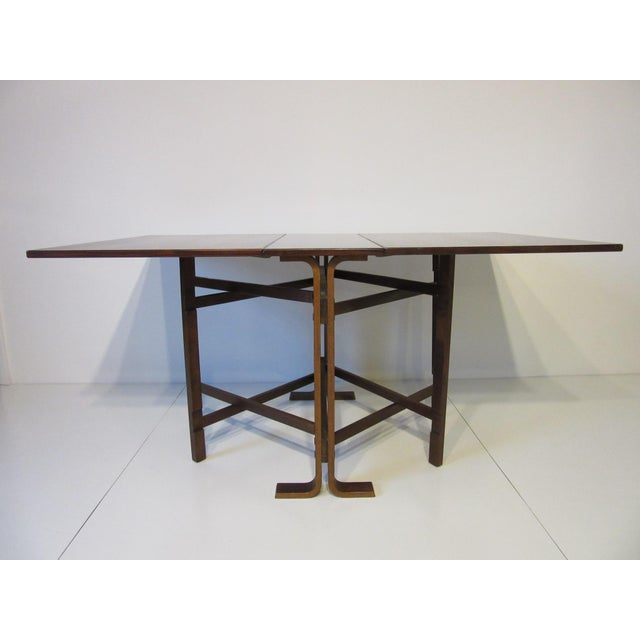 Vatne Møbler Siguro Ressell Rosewood Gate Leg Dining Table For Sale - Image 4 of 8