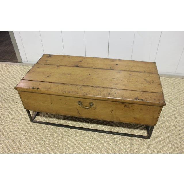 Brown 1970s French Country Trunk Coffee Table For Sale - Image 8 of 8