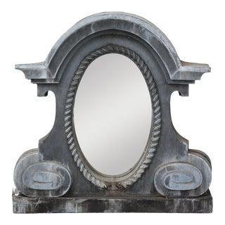 Antique French Oeil De Boeuf Mirror For Sale