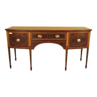 Stickley Colonial Williamsburg Collection Inlaid Mahogany Sideboard