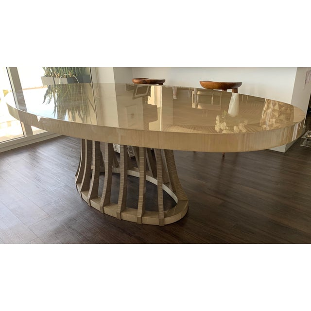2010s Contemporary Matsuoka Opera Dining Table For Sale - Image 5 of 5