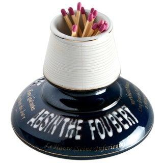 Vintage French Absinthe Foubert Match Striker