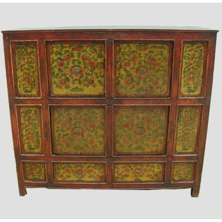Hand Painted Tibetan Cabinet Preview