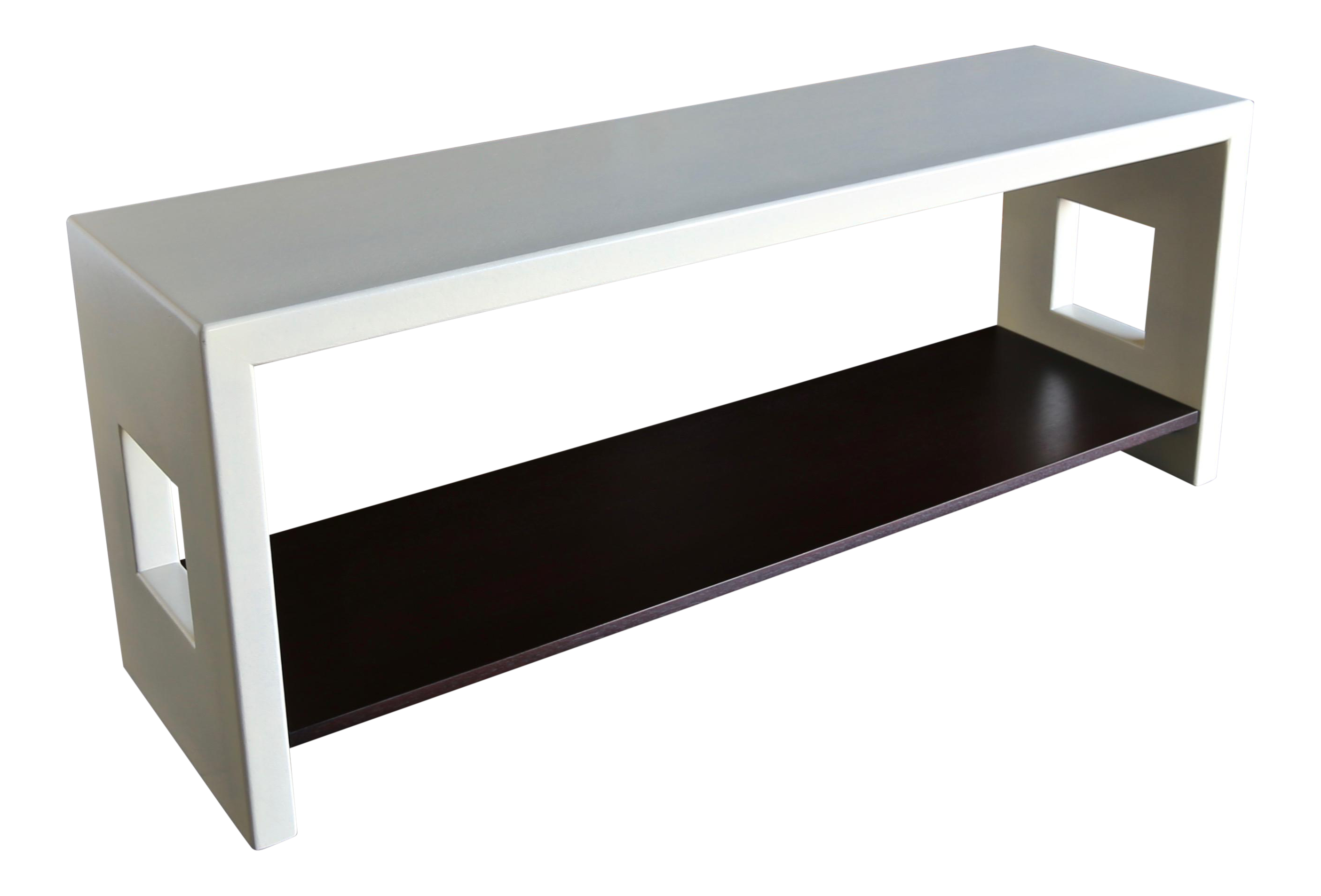 1950s Mid-Century Modern Paul Frankl Console for Johnson Furniture Company  Console Table