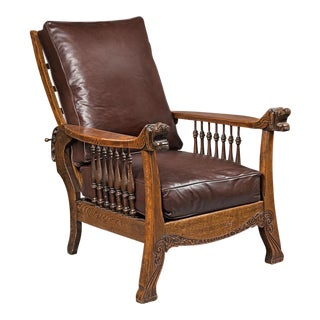 Oak armchair art and craft